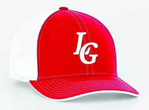 Lone Girl Brewing Company Red Fitted Cap